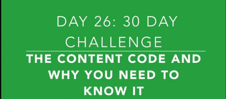 Day 26: You've Started Creating Videos, Now What? Igniting Your Content