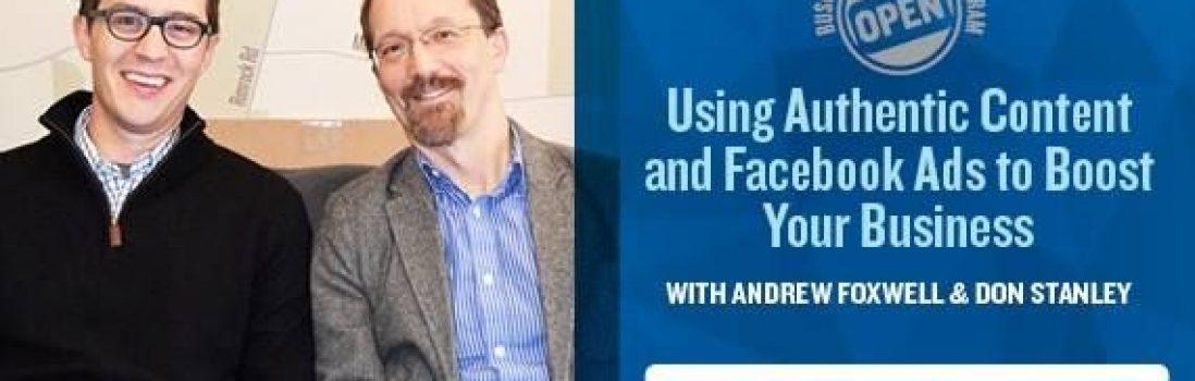 Dreambank Bonus Episode: Using Authentic Content & Facebook Ads to Boost Biz