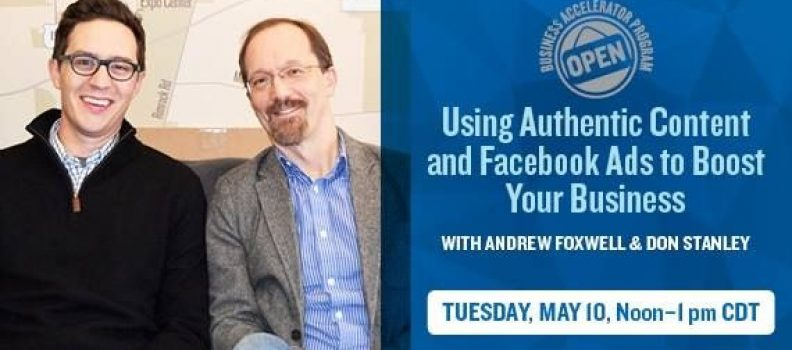 Dreambank Bonus Episode: Using Authentic Content & Facebook Ads to Boost Biz