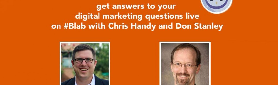 #PickOurBrains Your Digital Marketing ?s answered by @3rhinomedia @handythinks
