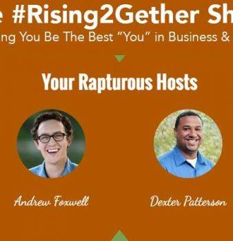 #Rising2Gether @GeorgeBThomas feedback session
