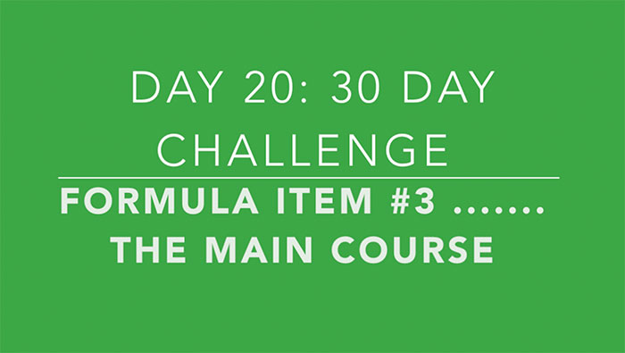 Day 20: The Main Course, 3rd Ingredient for Your Short Form Videos
