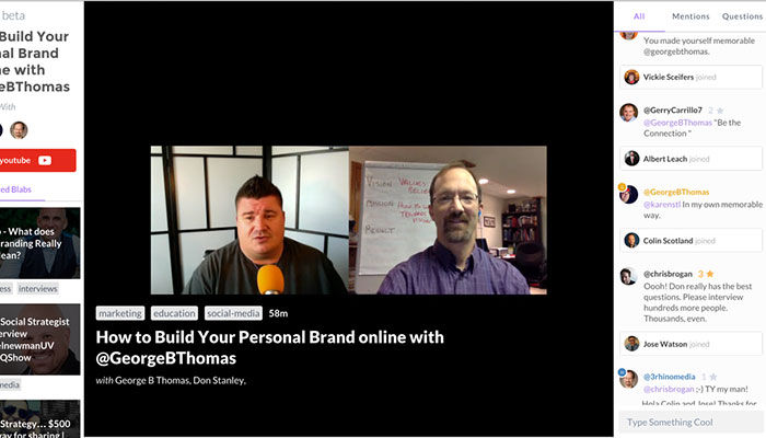 New #Blab Show: How to Build Your Personal Branding Online